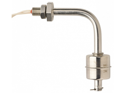 L54 Series Bent Stem Side Mount Stainless Steel Liquid Level Switch